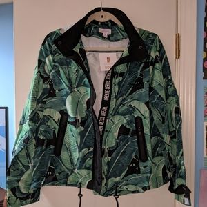 Lularoe NWT M palm leaf supply jacket